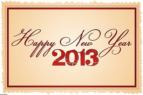 greeting_paper_card_with_happy_new_year_2013_